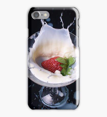 Strawberry Splash iPhone Case/Skin