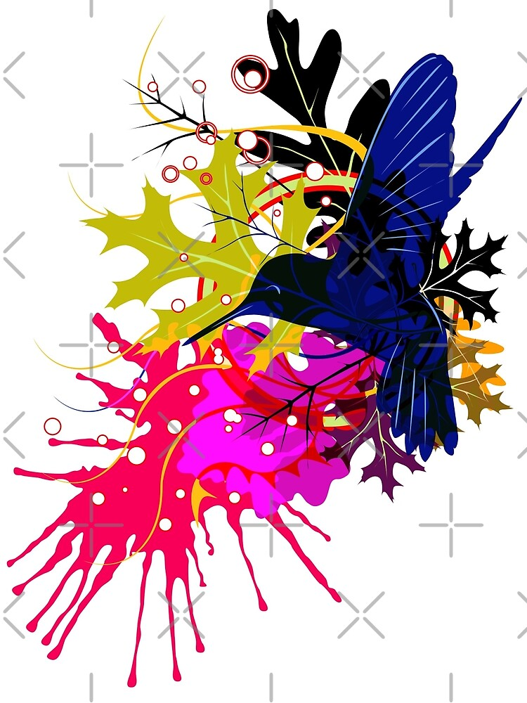Humming bird by Chris Jackson