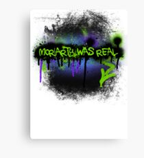 Moriarty was real (mania) Canvas Print