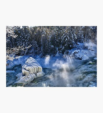 Plaisance Waterfalls Photographic Print