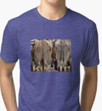 T-shirt Kiss It! Tri-blend T-Shirt