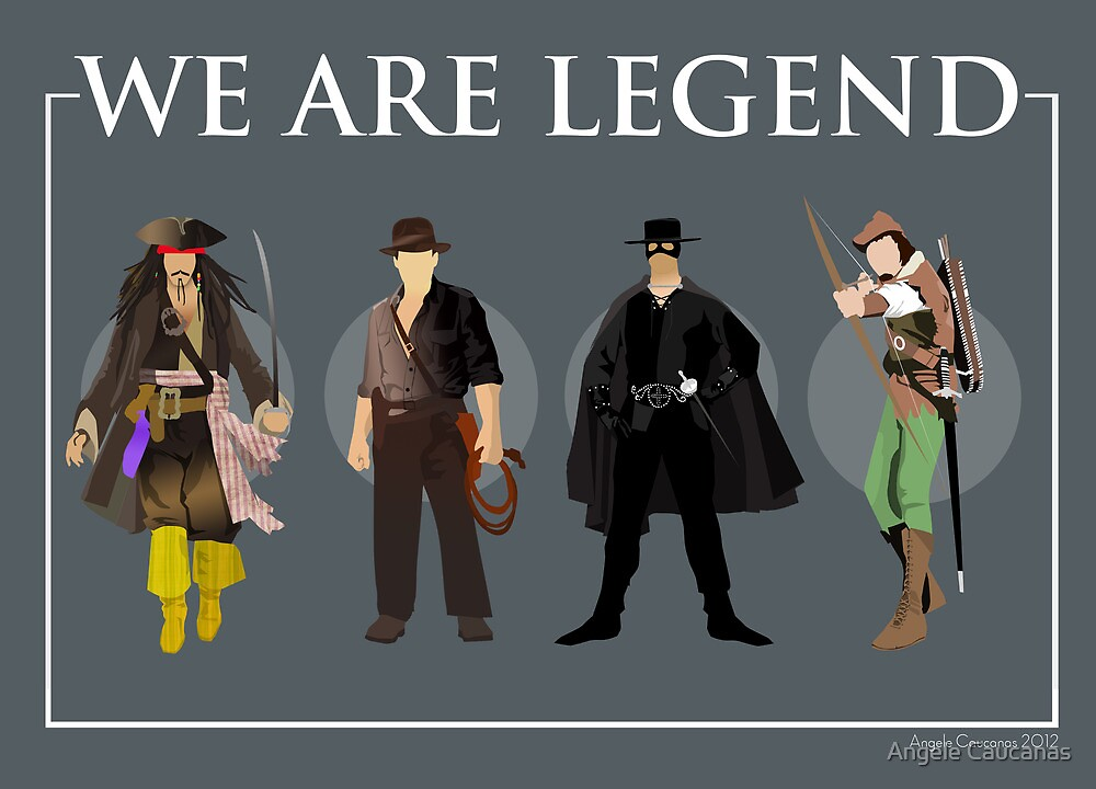 We are Legend - Part III by Angele Caucanas