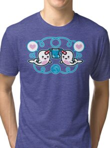 The Narwhal- Nature's Knitter! Tri-blend T-Shirt