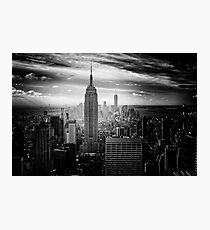 New York City Empire State Building Photographic Print