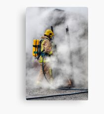 Firefighter Canvas Print
