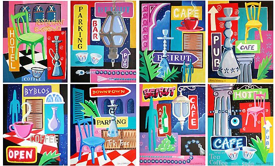 Beirut Nights Montage by nancy salamouny