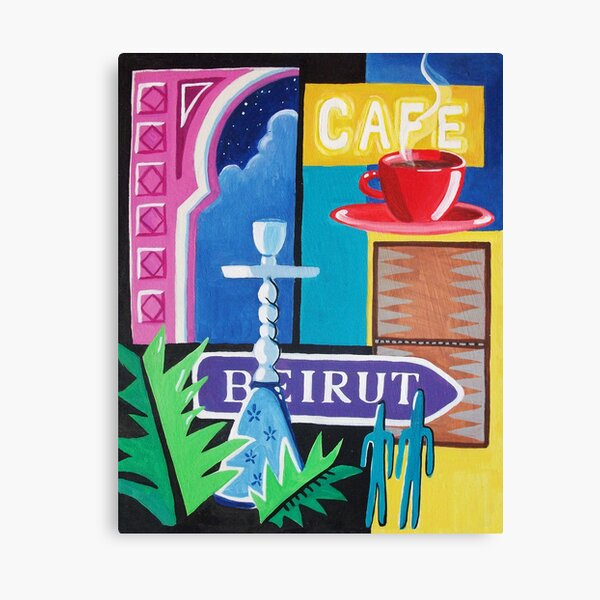 Beirut Nights II Canvas Print