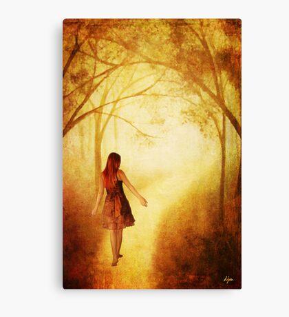 Amanda's Path_Altered 2 Canvas Print