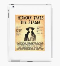 Wild Bill Hickock iPad Case/Skin