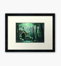 Swamp Temple Framed Print