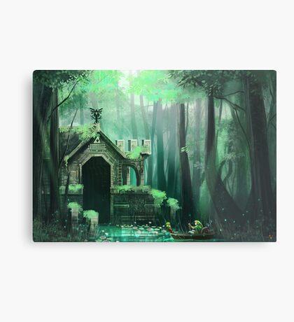 Swamp Temple Metal Print