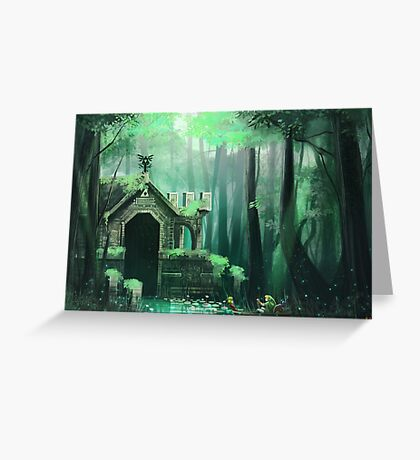 Swamp Temple Greeting Card