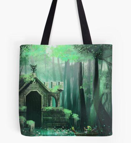 Swamp Temple Tote Bag