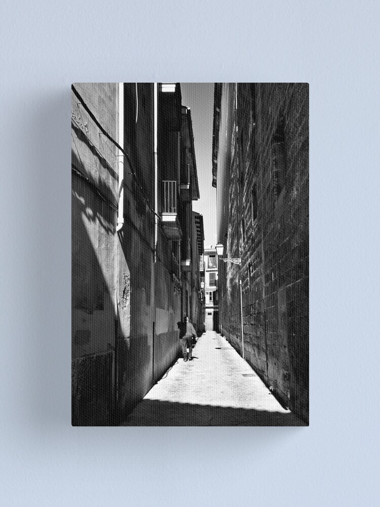 Alternate view of man in a red jumper Canvas Print