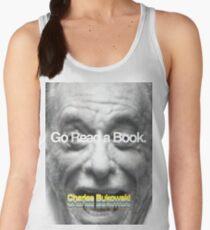 Go Read a Book, Bukowski Women's Tank Top