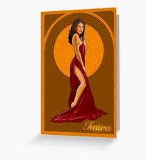 Art Nouveau Inara Serra Greeting Card