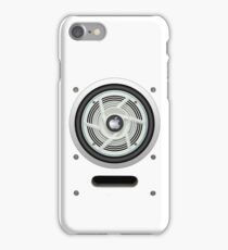 SPEAKER IPHONE CASE 4 (White eddition) iPhone Case/Skin