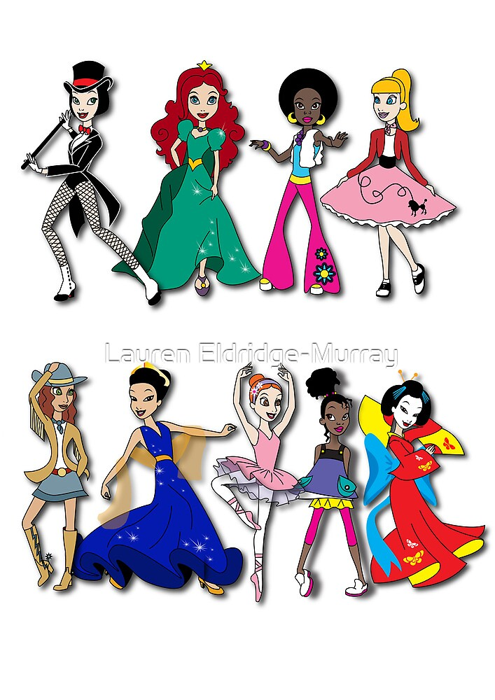 Dance - all across the world by Lauren Eldridge-Murray