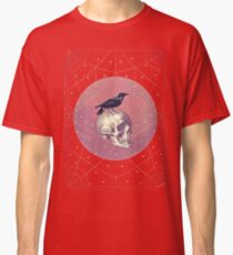 Crow and Skull Collage Classic T-Shirt