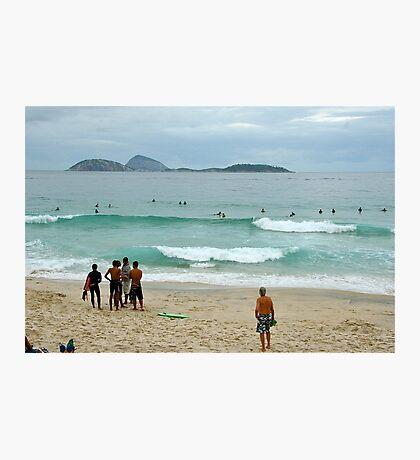 Copacabana beach, Rio Photographic Print