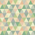 Pistachio triangles by Morag Anderson