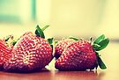 Strawberries by Carol Knudsen