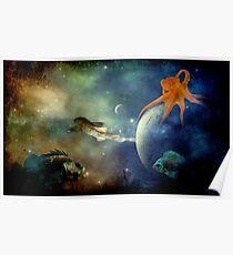 I Wonder If Fish Dream Poster