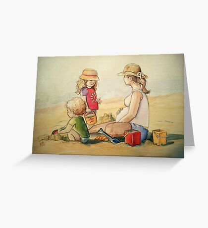 Almost Three Greeting Card