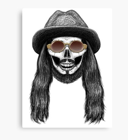 Stack's Skull Sunday No. 7 (Johnny Seagull) Canvas Print