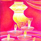 Diwali Lamps by Riya Naik