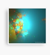 SOLAR ACTIVITY Canvas Print