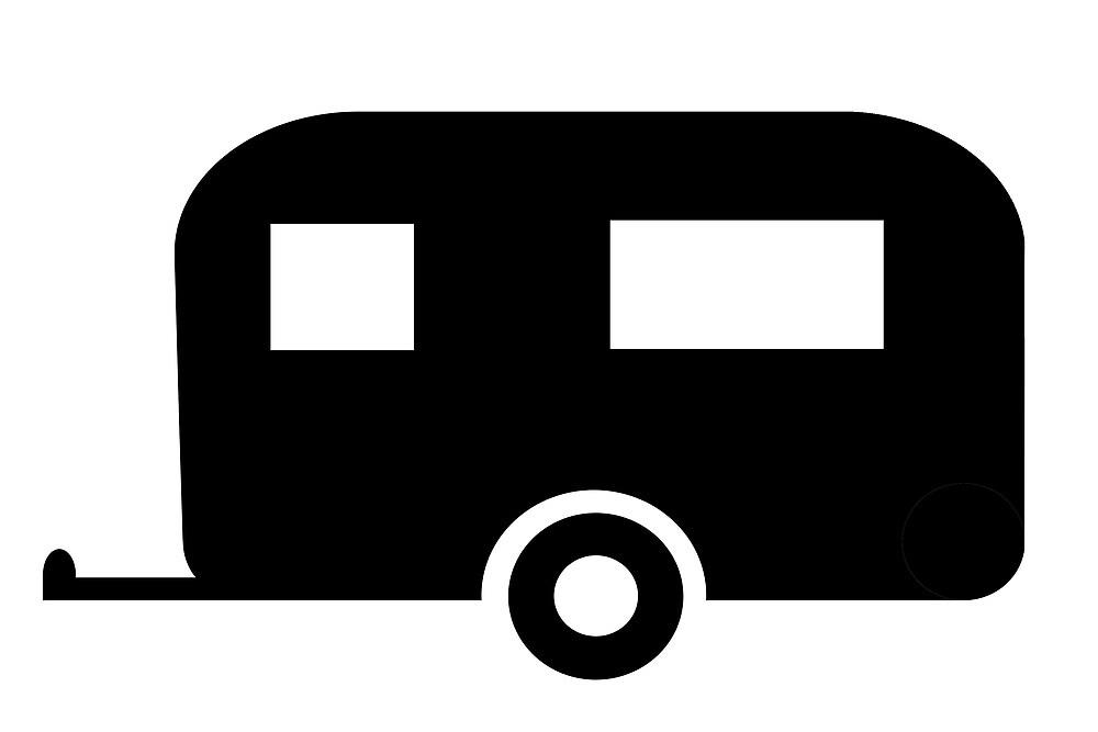 """Caravan sign as clipart"" by naturaldigital   Redbubble"