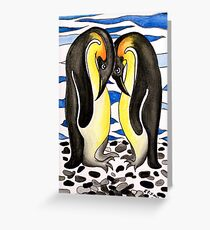 I Choose You ~ you are my penguin. Greeting Card