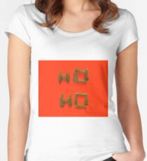 Christmas Cards Women's Fitted Scoop T-Shirt