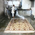 Carpet cleaning - Agra, India by fionapine