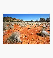 The Red Earth Out Back Photographic Print