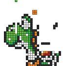 Yoshi Tetris by tombst0ne