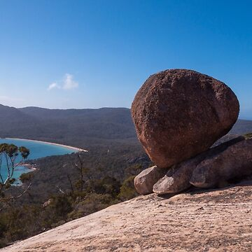 Boulder on Mt Amos, Freycinet National Park by GreenNote