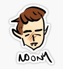 marauder moony Sticker