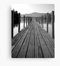 Blissful Morning on Lake George Metal Print