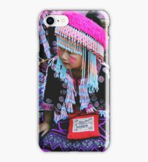 Hmong Child iPhone Case/Skin