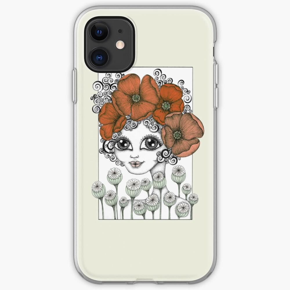Charming Poppy iPhone Case & Cover