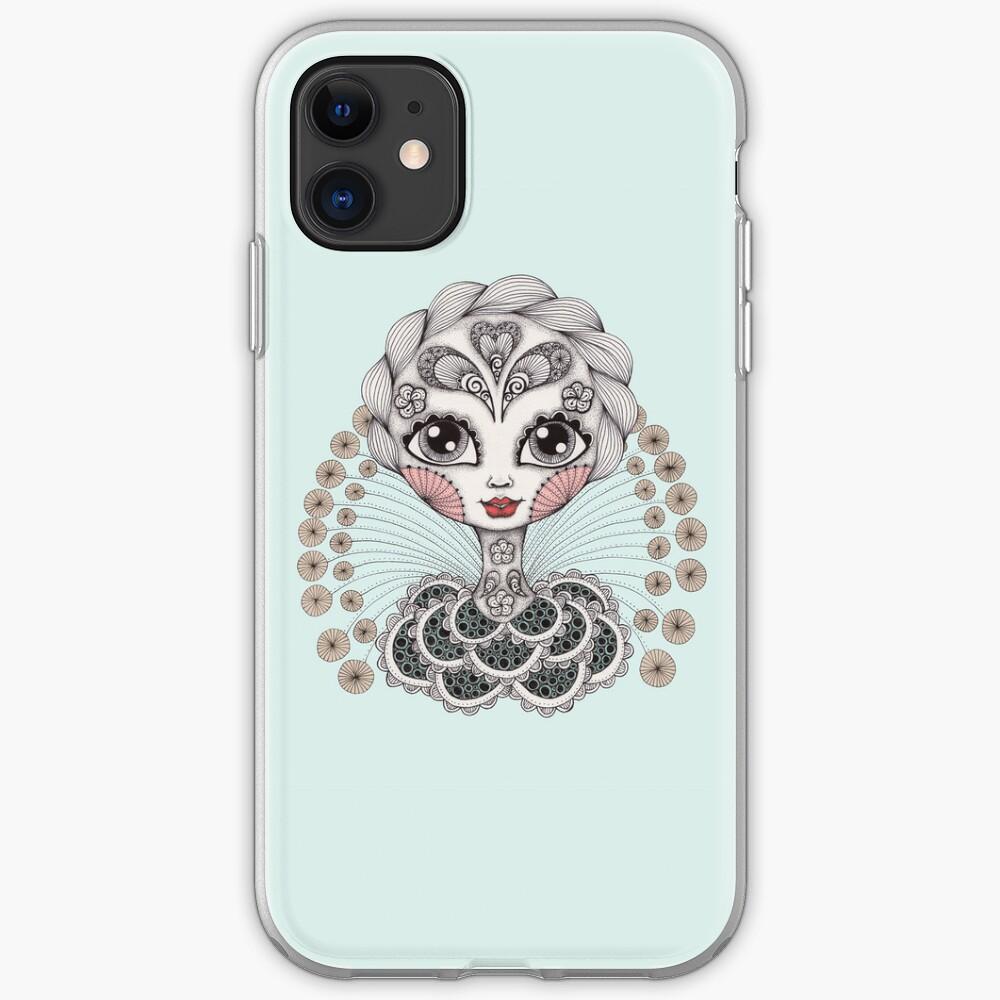 Miss Dia De Los Muertos iPhone Case & Cover