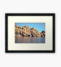 Linx Lake Prescott Arizona Framed Print