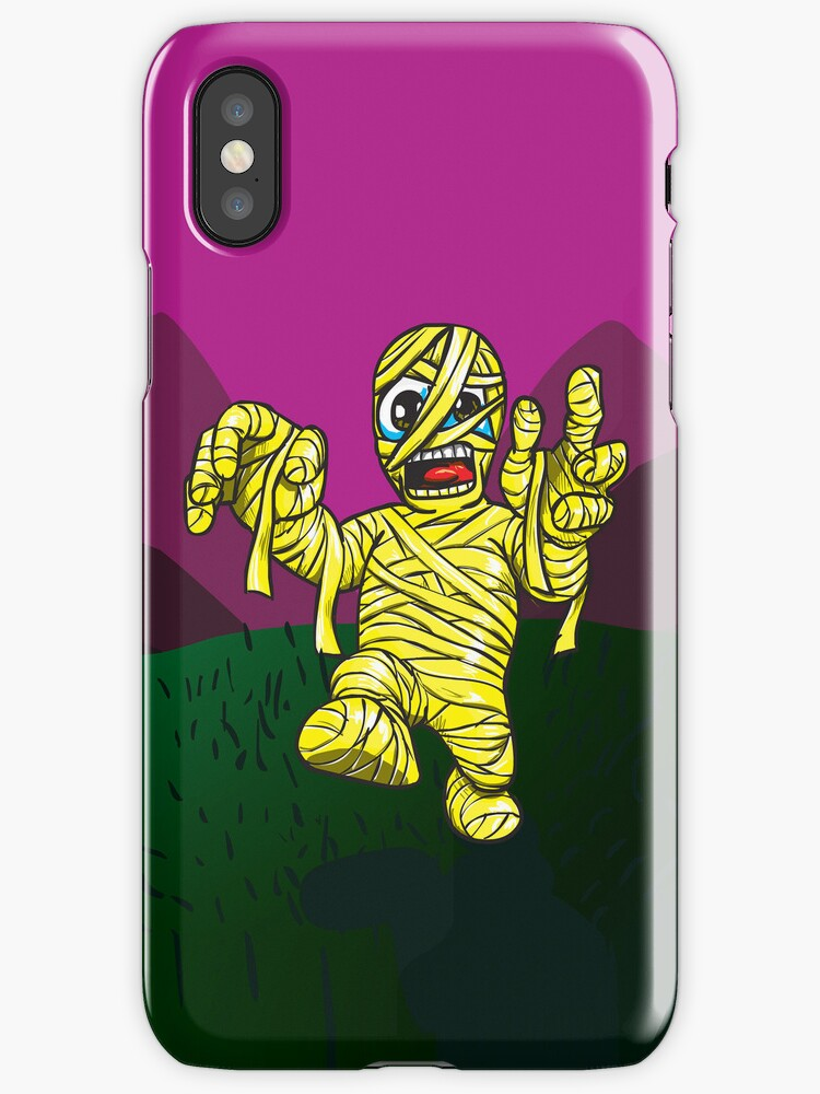 Mummy iPhone Cover by beanarts