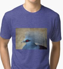 Common Crowned Pigeon  Tri-blend T-Shirt