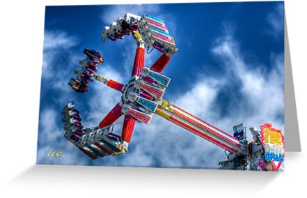 Carnival Wheel by George Lenz