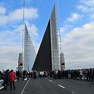 Twin Sails Bridge opening in Poole, Feb, 2012 by Songwriter