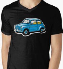 fiat 600 Men's V-Neck T-Shirt