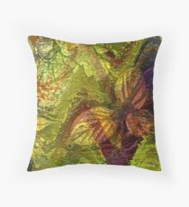 Purple V and  Ivy... Throw Pillow